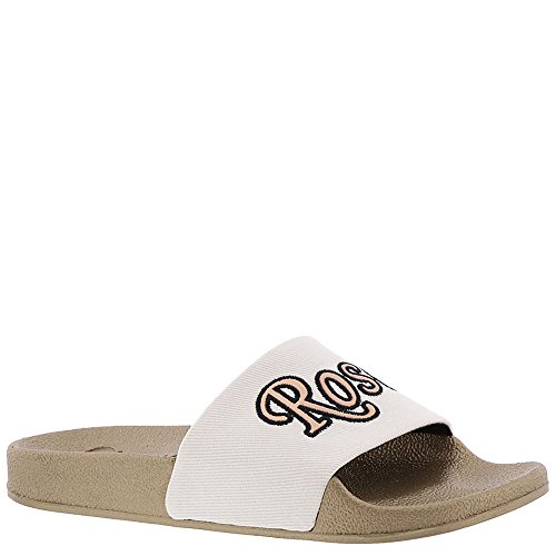 Circus by Sam Edelman Women's Flynn-5 Slide Sandal  Bright White/Rose All Day  8 Medium US