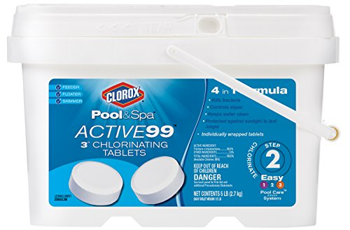 Clorox Pool Amp Spa Active99 3 Quot Chlorinating Tablets Salt