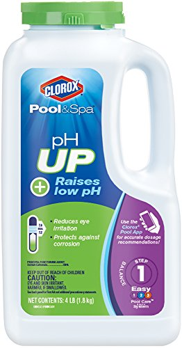 Clorox Pool&Spa pH Up  4-Pound 19004CLX