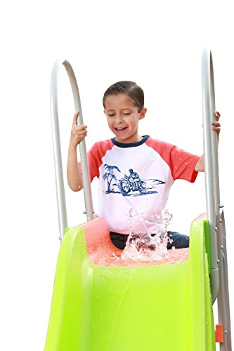 Slidewhizzer 10ft Water Wavy Slide Outdoor Playset And